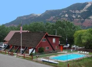 United Durango Colorado RV Park Campground 360Durango Pool