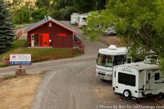 United Durango Colorado Camping RV Train