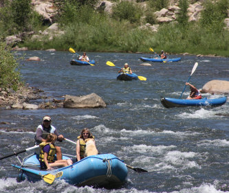 Flexible flyers rafting durango