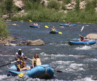 Flexible flyers rafting durango