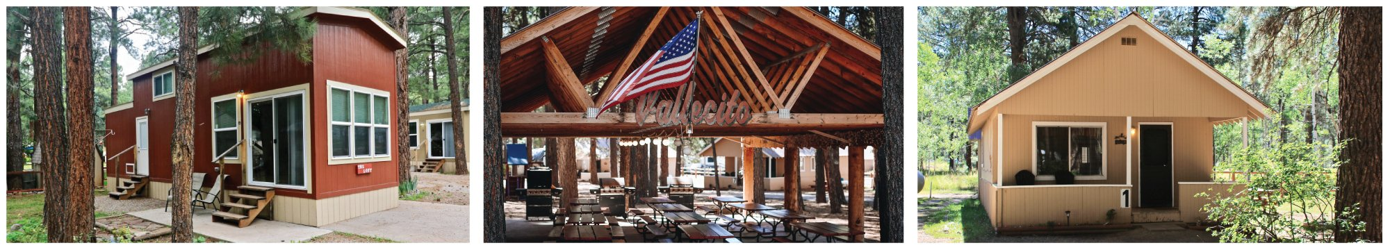 Vallecito Resort cabin rentals and rv hookup in bayfield