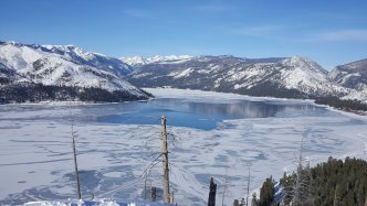 Winter Ice at Vallecito