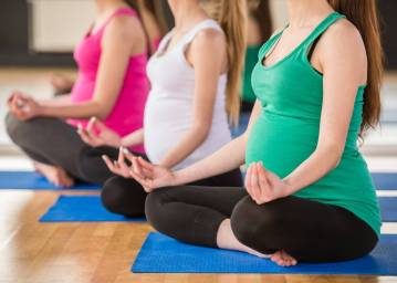 Lunchtime Prenatal Yoga