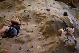 SunUte Reccenter Climbing Wall