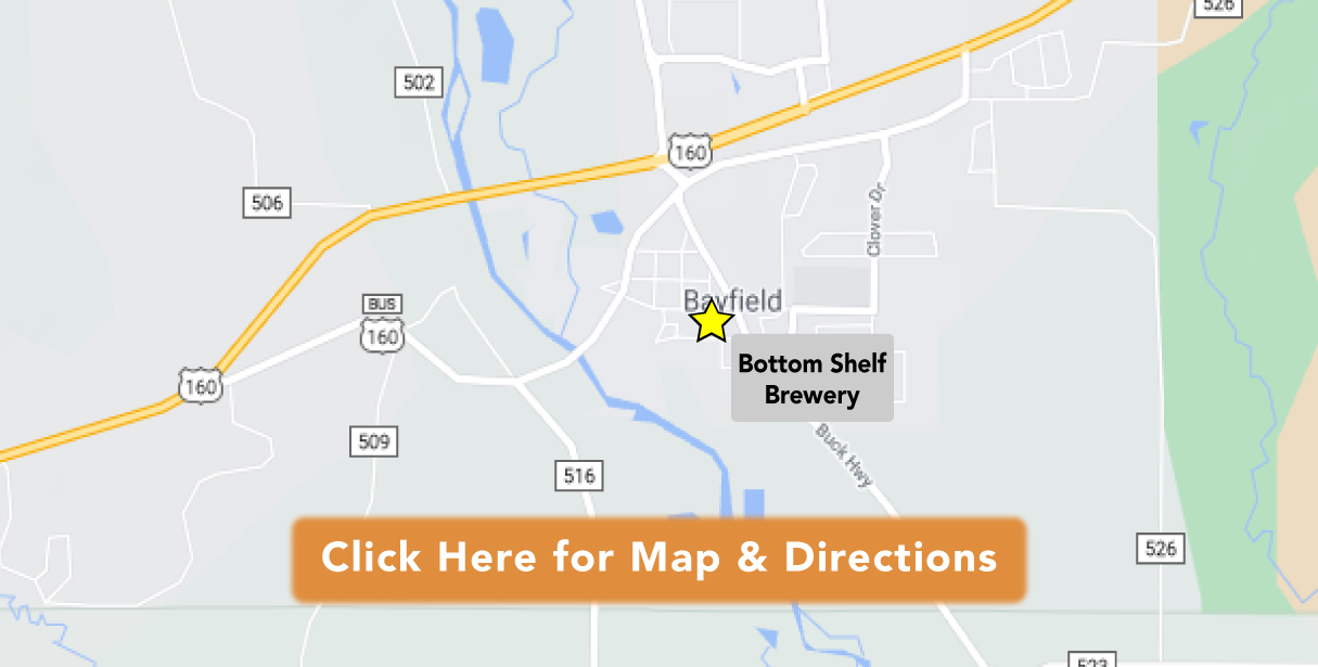 Directions to Bottom Shelf Brewery