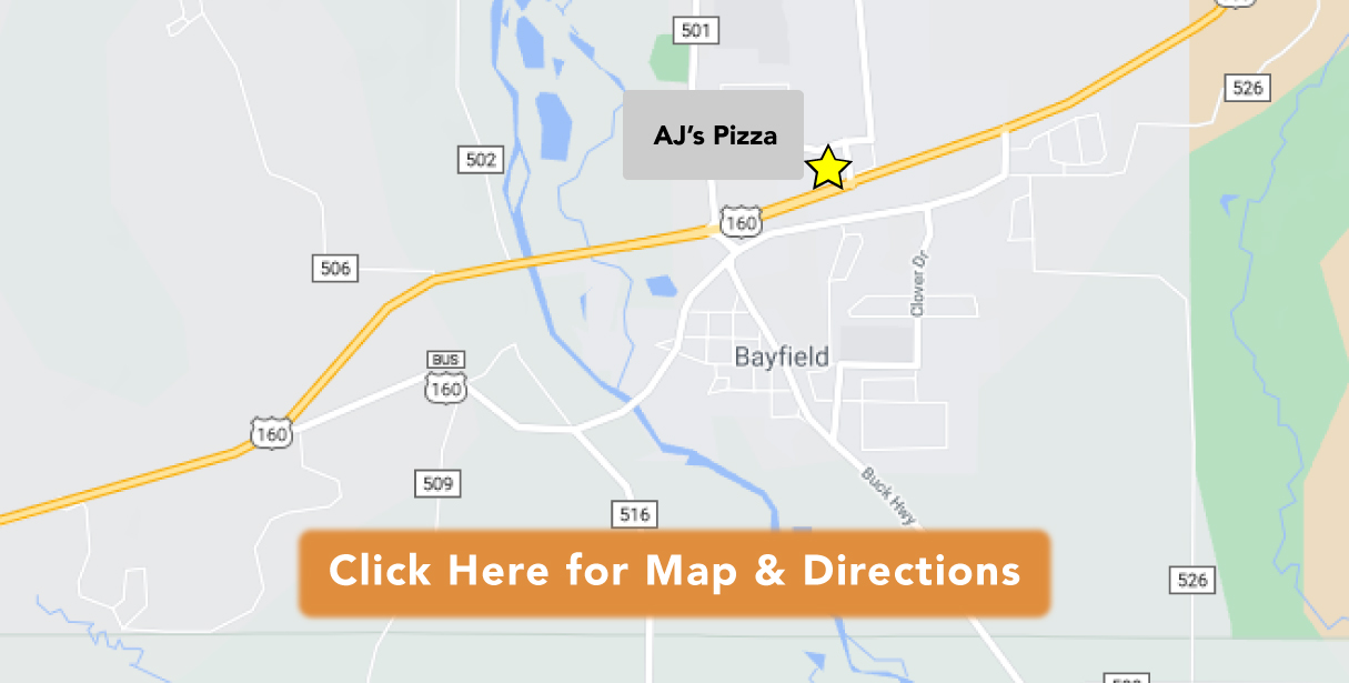 AJ's Pizza Get Directions