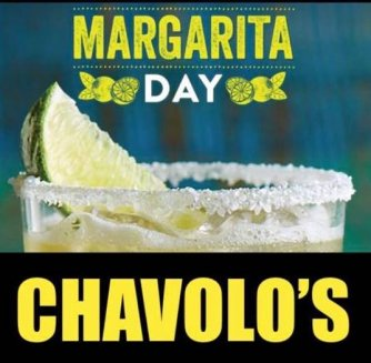 Margarita Day at Chavolos Mexican Restaurant