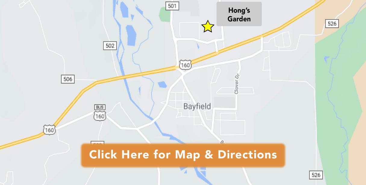 Directions to Hong's Garden