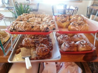 Pastries at Baked in Bayfield
