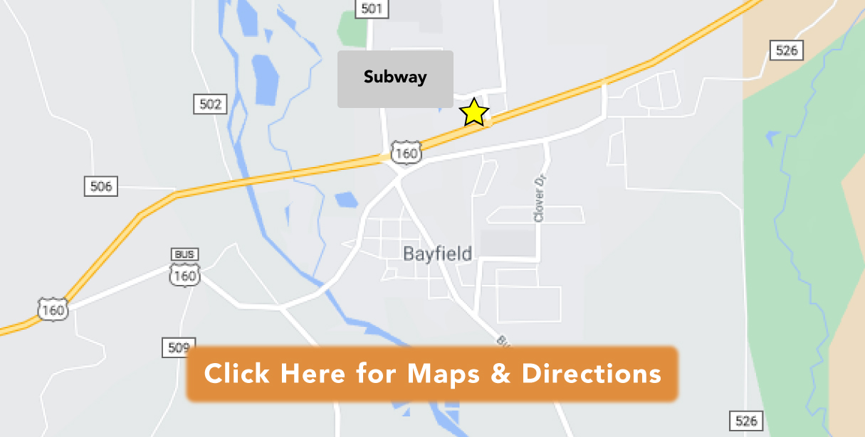 Directions to Subway