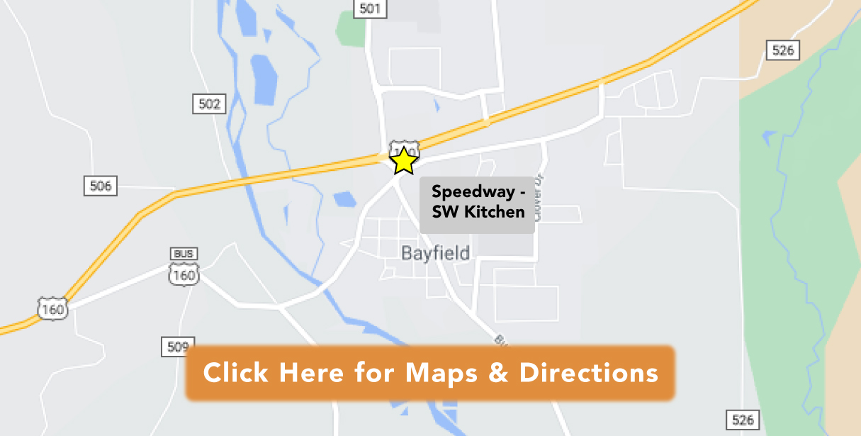 Directions to Speedway - SW Kitchen