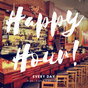 Happy Hour Every Day!