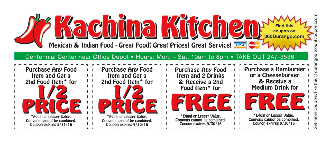 Kachina Kitchen Coupon
