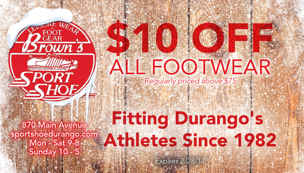 Brown's Sport Shoe Coupon