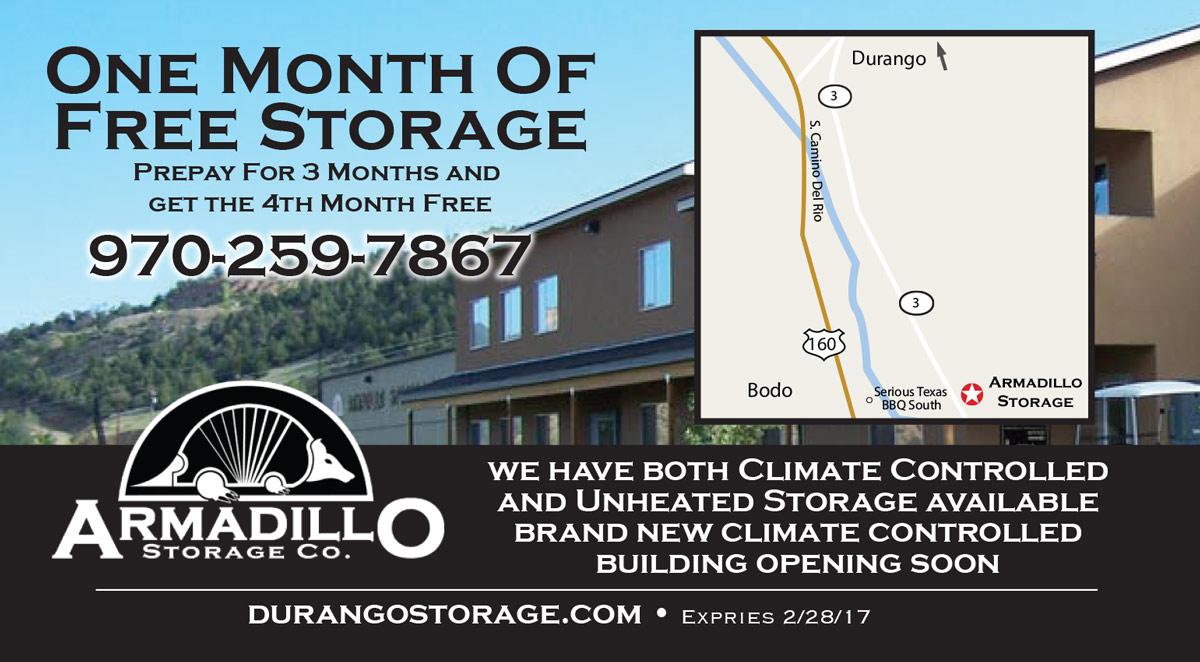 Armadillo Storage Coupon