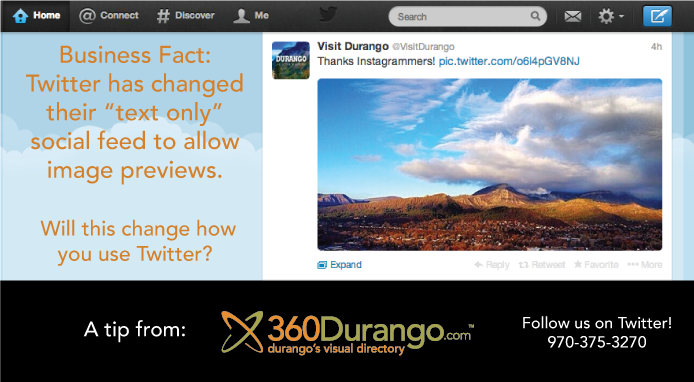 Social Media Advice from 360Durango.com