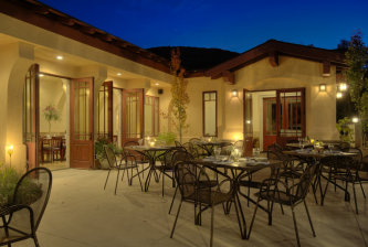 Kennebec Patio at Night