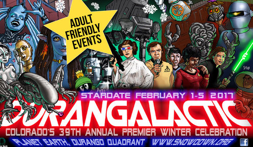 Intergalactic SNOWDOWN 2017: Adult-Friendly Events