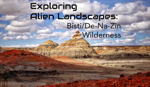 Bisti Wilderness: Explore Alien Landscapes