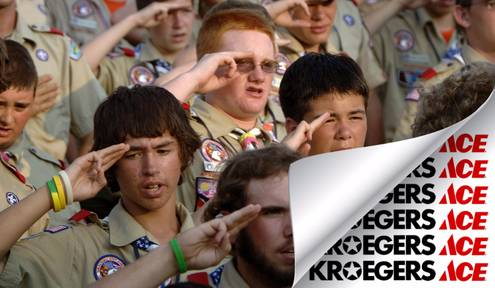 The ____ Scouts of America