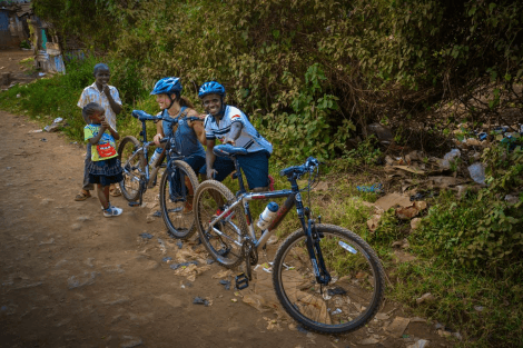 Mountain Biking for Uganda