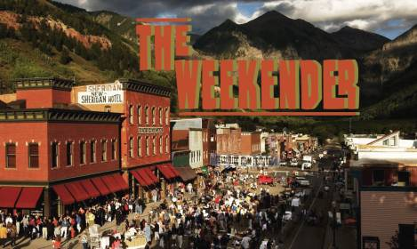 The Weekender // August 31st - September 2nd, 2018