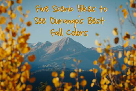 Five Scenic Hikes to See Durango's Best Fall Colors