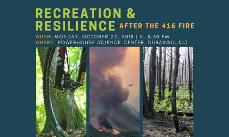 Recreation and Resilience flier