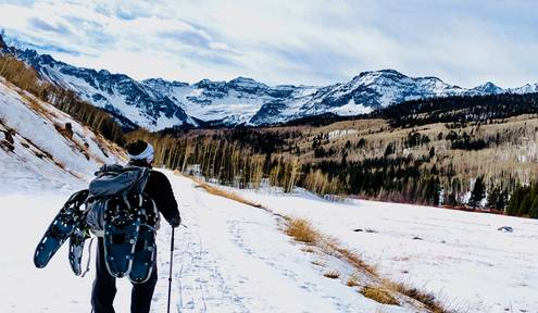 Best Places to Snowshoe Around Durango