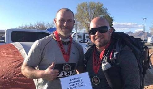 Bayfield residents participate in Bataan Memorial Death March
