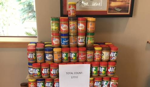 Fire Department Hosting Food Drive for Peanut Butter, Jelly Donations