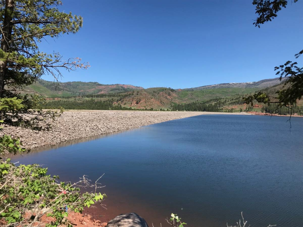 Vallecito Lake Levels on June 11, 2019