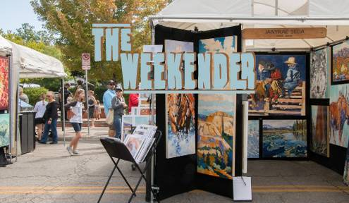 The Weekender // Sept. 20th - 22nd