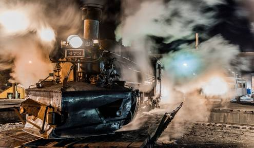 Lights, Camera, Action: The Winter Photographer's Train