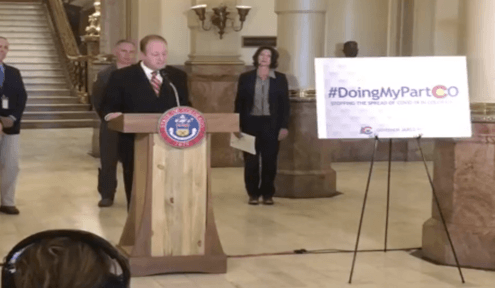 Gov. Polis announces 30-day dine-in restaurant and bar closures