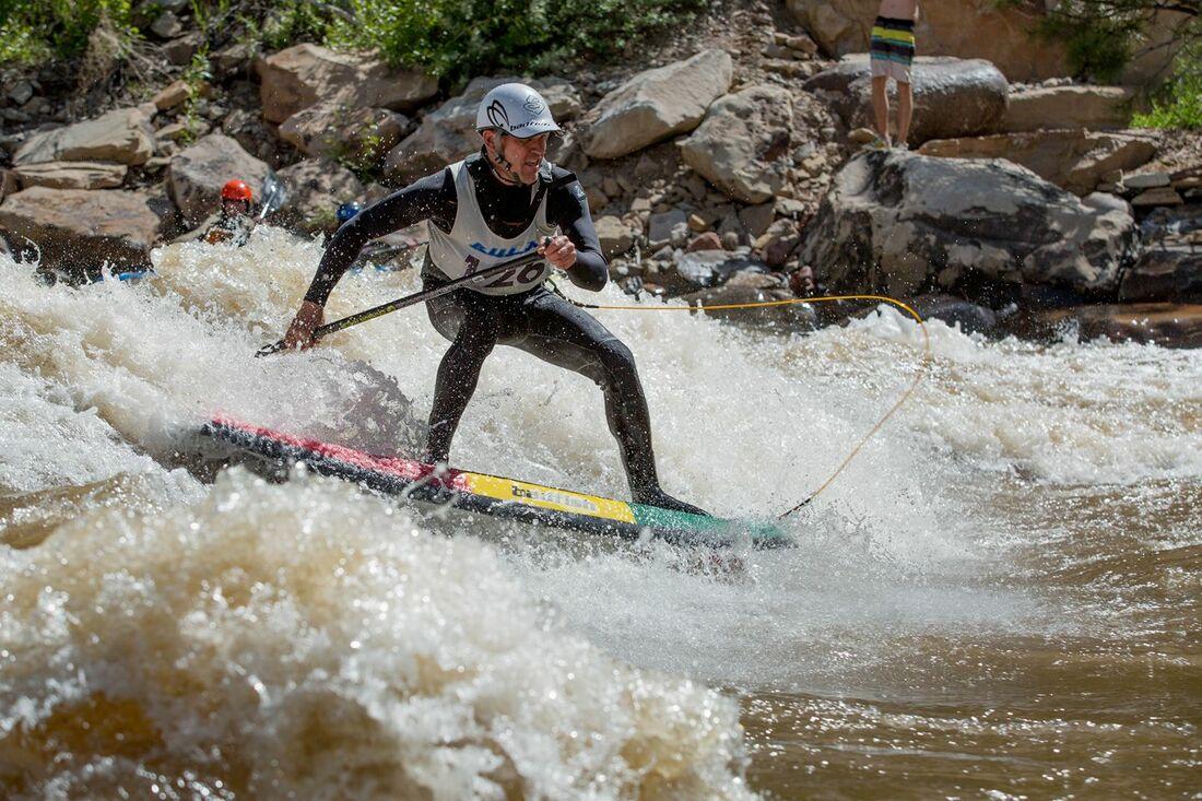 Animas River Days Wake Surfing