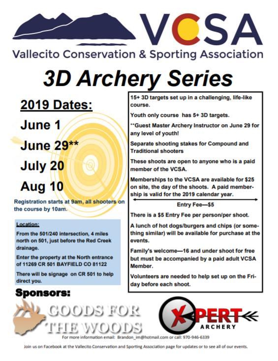 VCSA Archery Event
