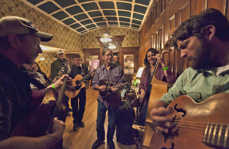 Bluegrass Meltdown at The Strater