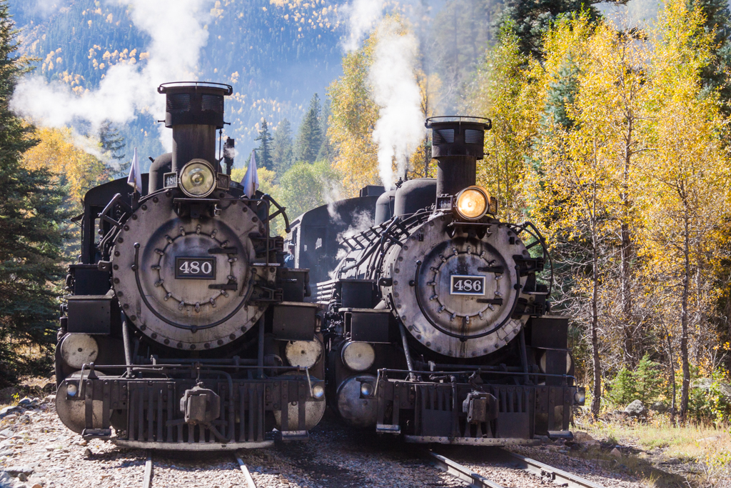 Durango and Rio Grande Western Trains