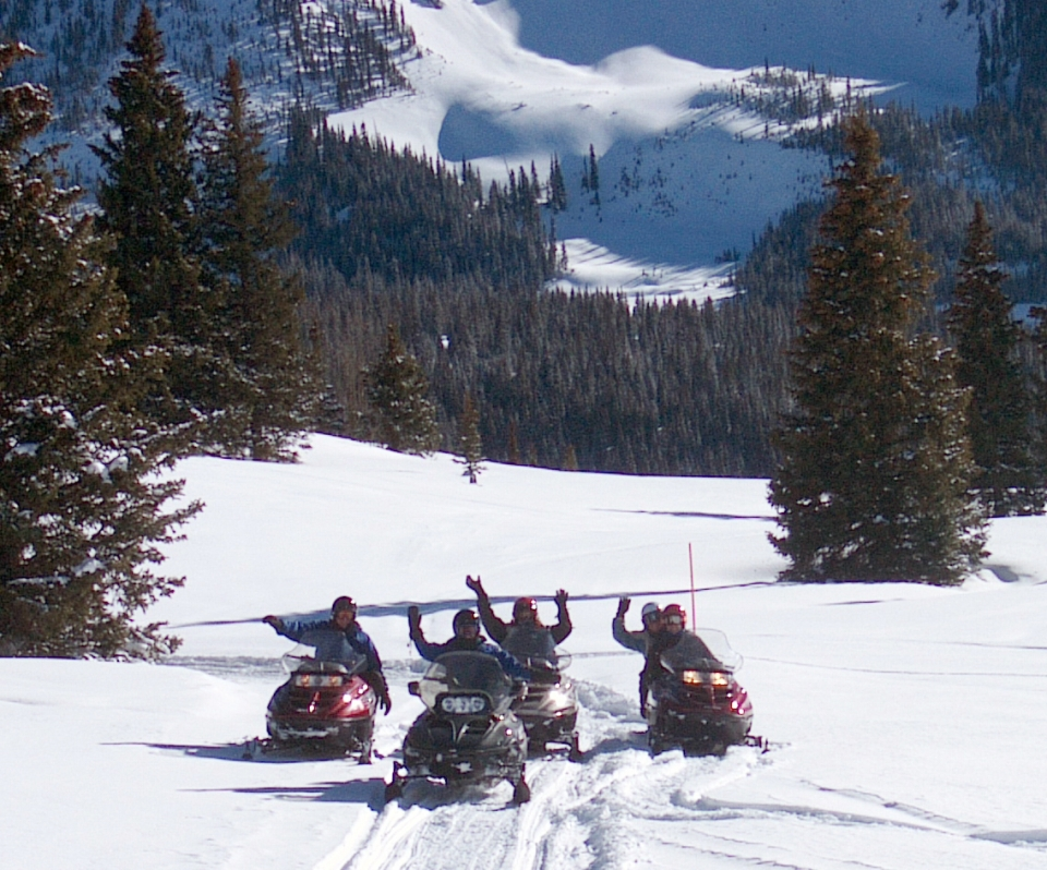 Snow Mobile Adventure Package