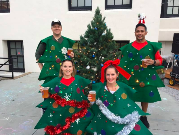 Photo of Participants from Annual Durango Holiday Pub Crawl