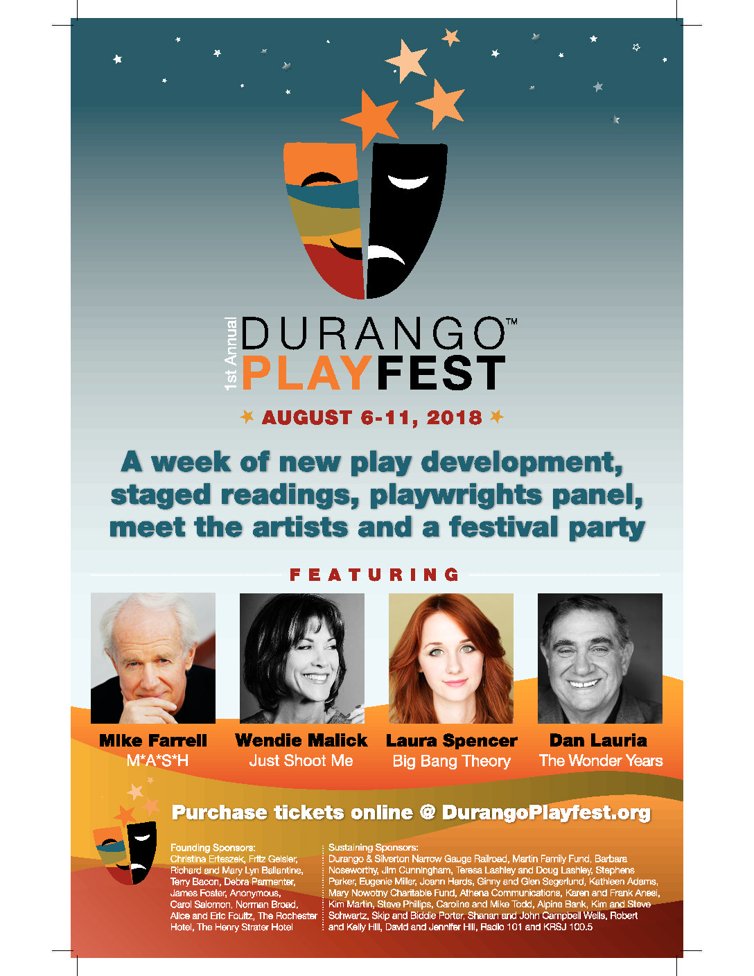 Durango Play Fest Event Poster