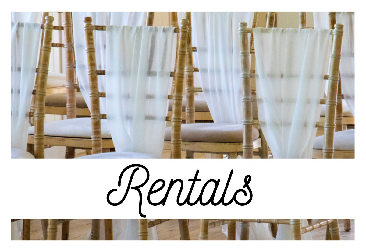 table and chair rentals and wedding rentals in durango,co