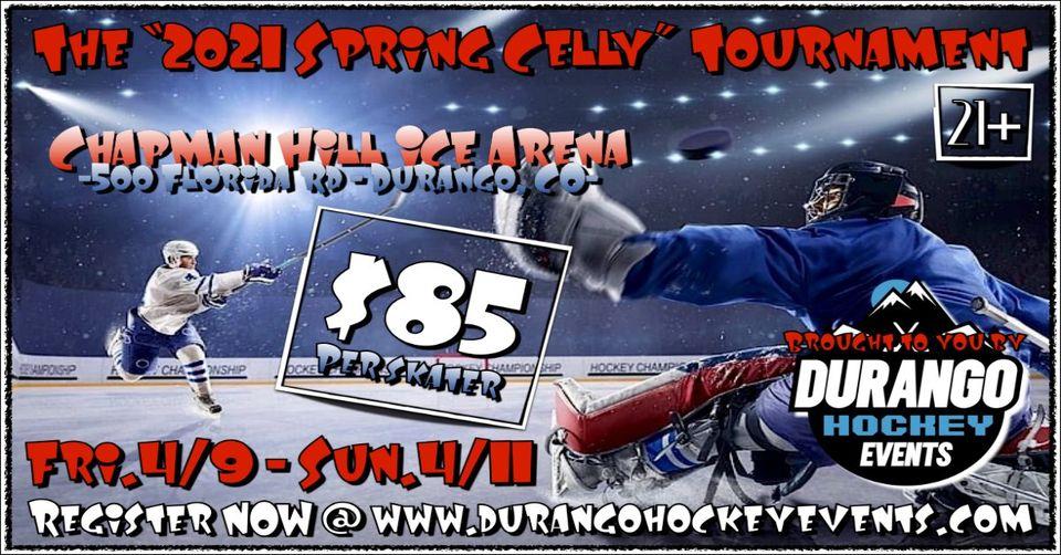 Durango Spring Hockey Celly info