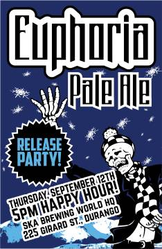 Euphoria Pale Ale Release Party at Ska Brewing