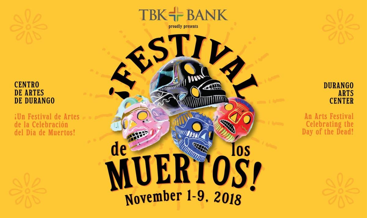 Event Page for the Festival de los Muertos on November 2nd, 2019